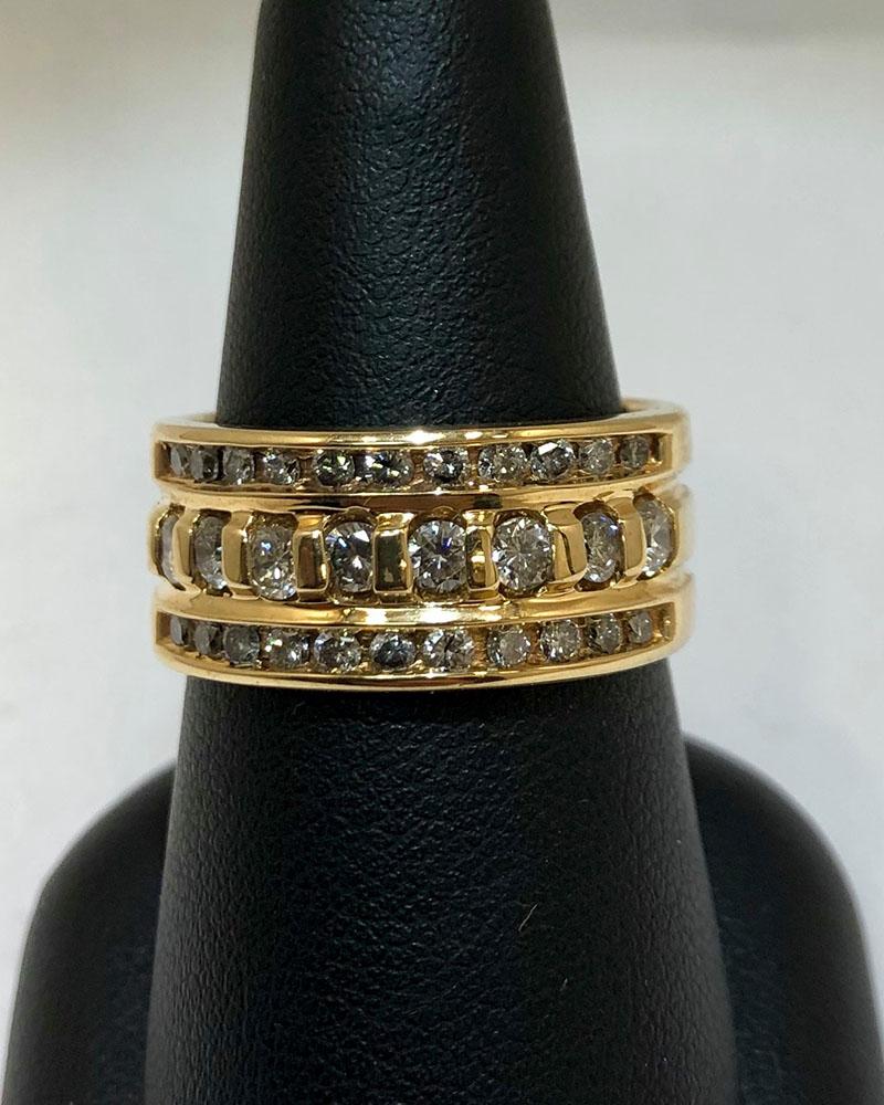 Yellow Gold, Diamonds