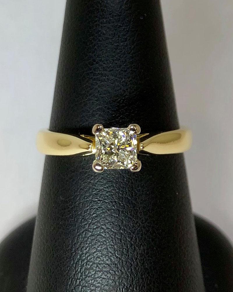 Yellow & White Gold, Diamond